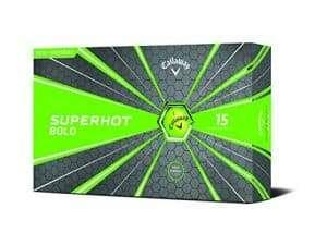 Callaway Superhot Bold Golf Balls
