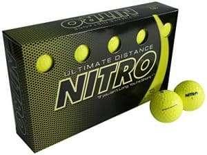 Nitro Long Distance Peak Performance Golf Balls
