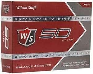 Wilson Staff Fifty Elite Golf Balls