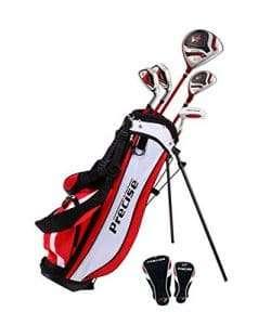 PreciseGolf Co. Precise X7 Junior Complete Golf Club Set for Children Kids - PG Golf Links