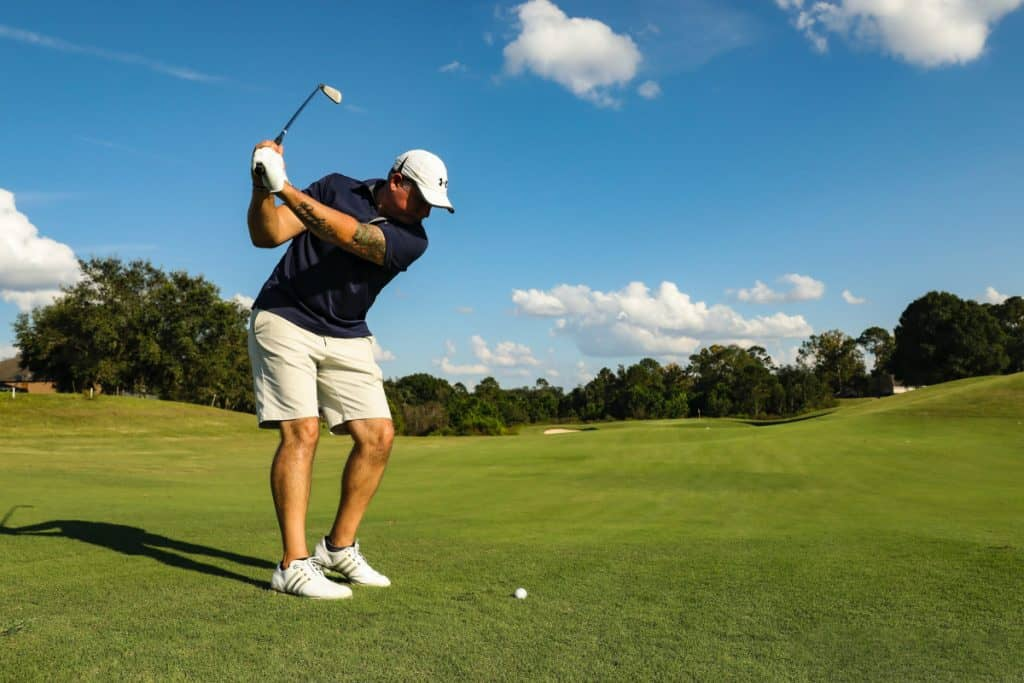 Golfers lose distance with age - PG Golf Links