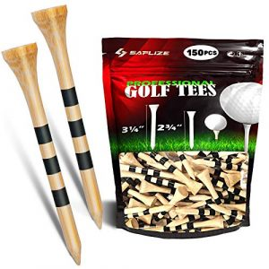 SAPLIZE Bamboo Golf Tees