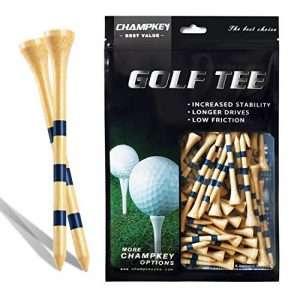CHAMPKEY SDB Bamboo Golf Tees