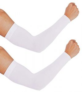 Aegend 2 Pair Sun Protection Cooling Arm Sleeves UPF 50 Sun Sleeves