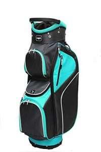 Majek Ladies Teal Black Golf Bag