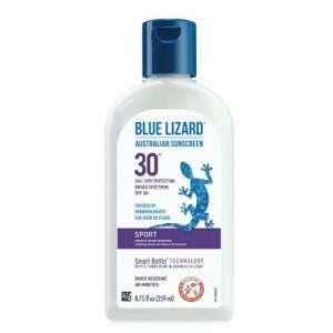 BLUE LIZARD Sport Mineral Sunscreen with Zinc Oxide