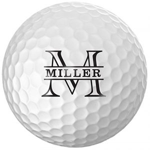 Personalized Name & Initial Golf Balls