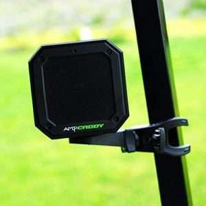 Golf Bluetooth Speaker with Mount, Ampcaddy Version 3 Pro Bluetooth Speaker