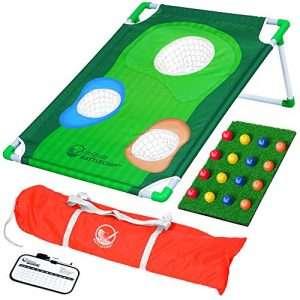 GoSports BattleChip Backyard Golf Cornhole Game